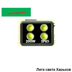 Прожектор LED 200w 6500K 4LED IP65 18000LM...