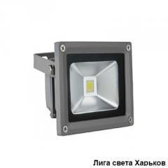 Прожектор LED 20w 6500K IP65 1LED Lemanso серый/LMP20