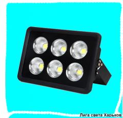 Прожектор LED 300w 6500K 6LED IP65 27000LM Lemanso черний/ LMP14-300