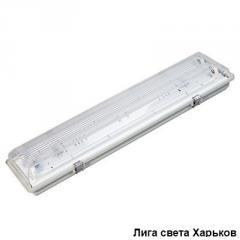 Светильник люминесцентный промышленный WPF 1X36W IP65 дроссельный
