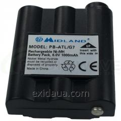 Аккумулятор для радиостанции Motorola РВ-АТL/G7