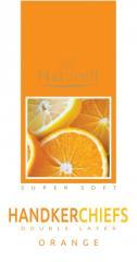 Носовые платки Naturell аромат апельсин