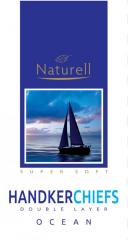 Носовые платки Naturell аромат океан