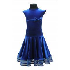 Рейтинговое платье для танцев (бейсик) Модель 507