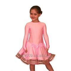 Рейтинговое платье для танцев (бейсик) Модель 522
