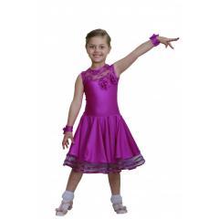 Рейтинговое платье для танцев (бейсик) модель 527