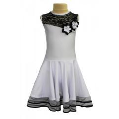 Рейтинговое платье для танцев (бейсик) модель 527/1