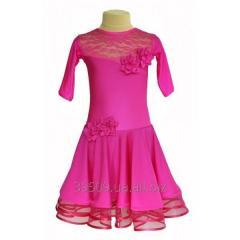 Рейтинговое платье для танцев (бейсик) модель 528