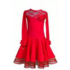 Рейтинговое платье для танцев (бейсик) модель 529