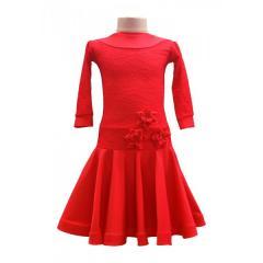 Рейтинговое платье для танцев (бейсик) Модель 531
