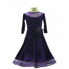 Рейтинговое платье для танцев (бейсик) Модель 512