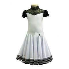 Рейтинговое платье для танцев (бейсик) Модель 506