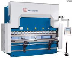 Гидравлический листогиб с ЧПУ - AHK D CNC 60320