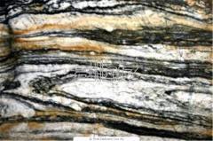 Granite plates and stone blocks of different