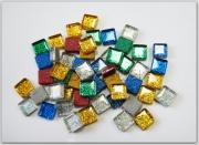 Мозаика Soft-Glass glitter, Асорти, 10мм*10мм,