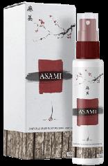 Asami (Asami) - Spray a haj növekedését