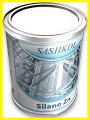 Cold galvanizing, anticorrosive mixture, liquid