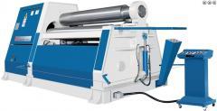 Гидравлический 4-валковый гибочный станок -RBM 20/04 (Для точной гибки толстых листов металла)