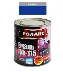 Эмаль алкидная балтика ПФ-115К 0,9кг Ролакс 1/12