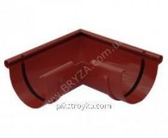 Угол наружный пластиковый красный 90° Ø100мм Bryza