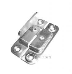 Завертка металическая форточная никелированная