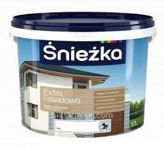 Краска акриловая фасадная Extra Fasad14кг Sniezka