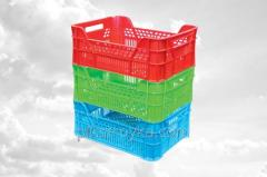 Caixas de plástico (PET)