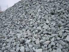 Plaster crushed stone