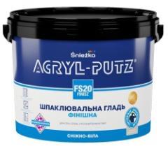 Шпатлевка финишная акриловая готовая Акрил-Путц FS 20 Finish 0,5кг Sniezka 1/18