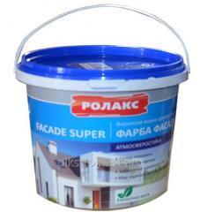 Краска акриловая фасадная Фасад Супер 7,0кг