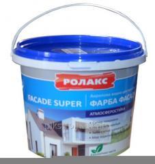 Краска акриловая фасадная Фасад Супер 14,0кг
