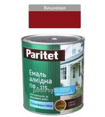 Emalia alkidowa wiśnia PF-115 2,8 kg Paritet 1/6