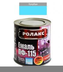 Emalia Alkid Blue PF-115K 0,250 kg Rolax 1/20
