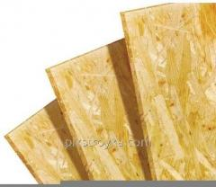 Oriented particle boards