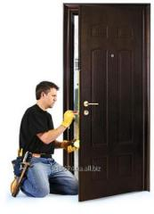 Монтаж, ремонт, реставрация дверей. Врезка,