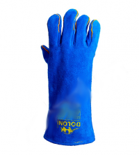 Перчатки рабочие краги сварочные с подкладкой