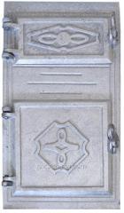 Coupled oven doors