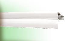 Карниз алюминиевый крашенный 3,5м белый Cardinal 1/5