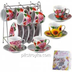 Thee sets, koffie