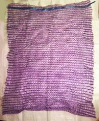 Mesh bag 60 * 40 cm 20 kg fialová 1/100/2000