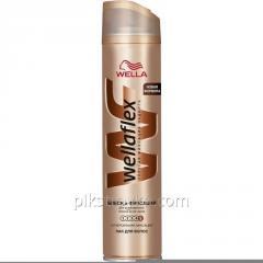 Lak na vlasy Wellaflex 250 ml lesk super silná fixace 1/6