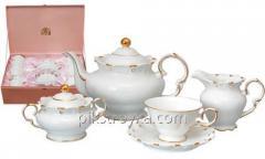 サービスの紅茶、コーヒー