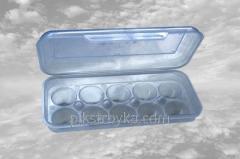 Tálcák a tojások csomagolása számára