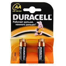Батарейка  Дюрасел АА Basic 1,5V LR6 2шт