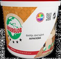 Farba akrylowa Uniwersalna 7,0 kg Anserglob 1/90