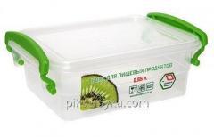 Kontejner pro potraviny obdélníková s úchyty lidí produktu 1/1 550 ml