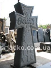 Ритуальные кресты, крест на кладбище