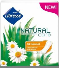 Codzienne nakładki Libresse Natural Care Pantyliners Normal 40pcs 1/14