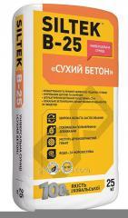 Смесь для пола сухой бетон универсальная B-25 25,0кг Siltek 1/54