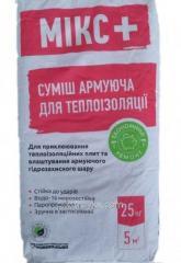 Смесь для защиты пенополистрирольной плиты и ваты T-77 25,0кг Микс+ 1/54